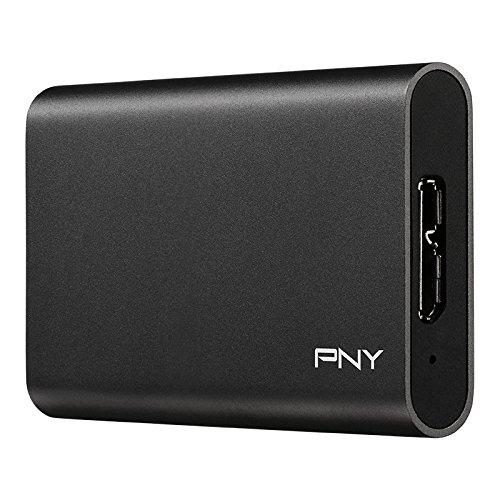 PNY PSD1CS1050-960-FFS Elite 960GB USB 3.0 Portable Solid State Drive (SSD)