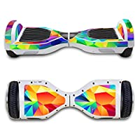SKINOWN Self Balance Two Wheel Balance Board Hover Scooter Sticker Protective Skin Wrap Adhesive Vinyl Decal Cover