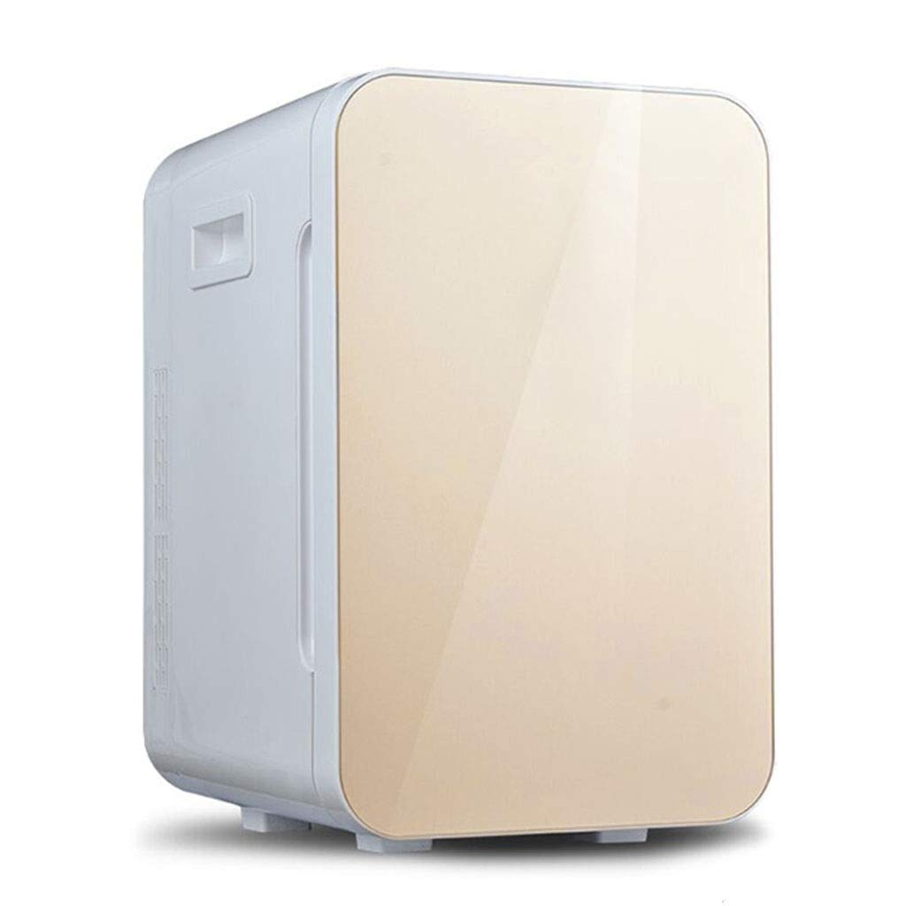 Refrigerator SHPING Car Small Low Noise Mute Large Capacity Heating Insulation Function Living Room Home 20L (Color : Gold, Size : Mechanical) by Refrigerator