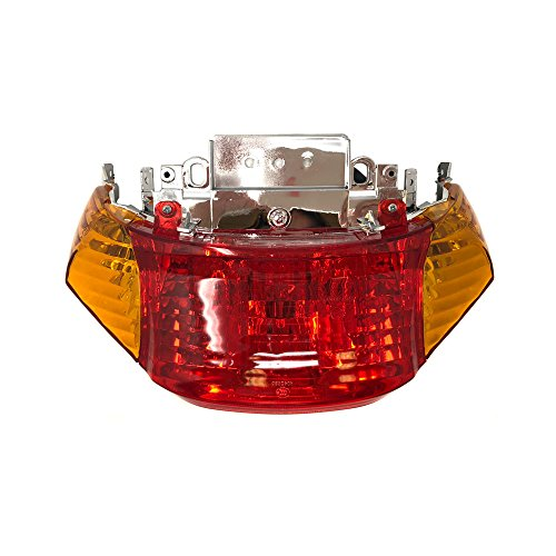 - MYK Complete Tail Rear Stop Light Assembly for Tao Tao ATM50 / Baccio Heat 50cc and other Scooters