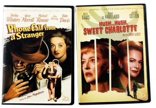 Bette Davis Double Feature - Hush Hush Sweet Charlotte -Phone Call From a Stranger