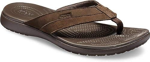 Schuhe & Handtaschen Zehentrenner crocs Herren Santa Cruz