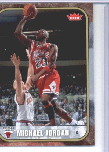 08 2007 Fleer Tribute Basketball Michael Jordan carte#26 État dans une usine