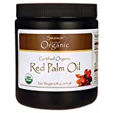 Swanson Red Palm Oil, Certified Organic 16 fl Ounce (473 ml) Solid Oil