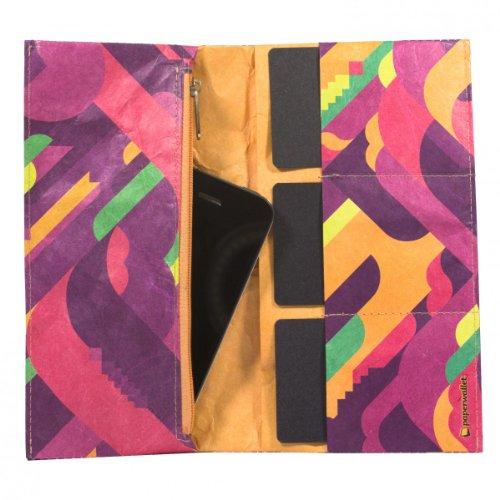 PaPERWALLET pianofuzz pochette porte-monnaie pour femme rose