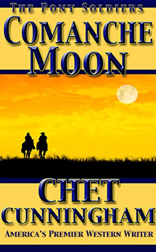 book cover of Comanche Moon