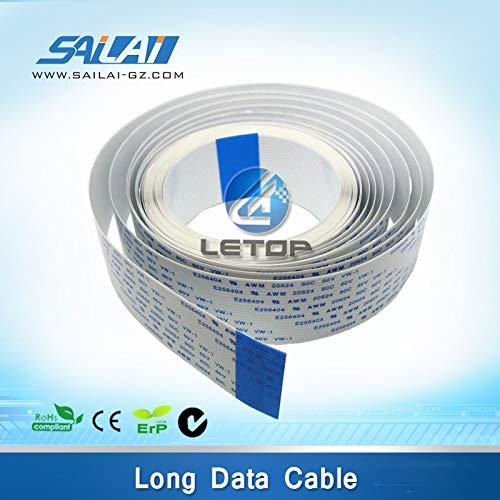 Yoton Inkjet Printer Long Data Cable for MIMAKI jv5 Solvent Printer (40P-4650mm) ()