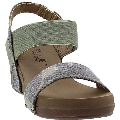 Corkys Bandit Women's Sandal (Camo, 9 B(M) US)