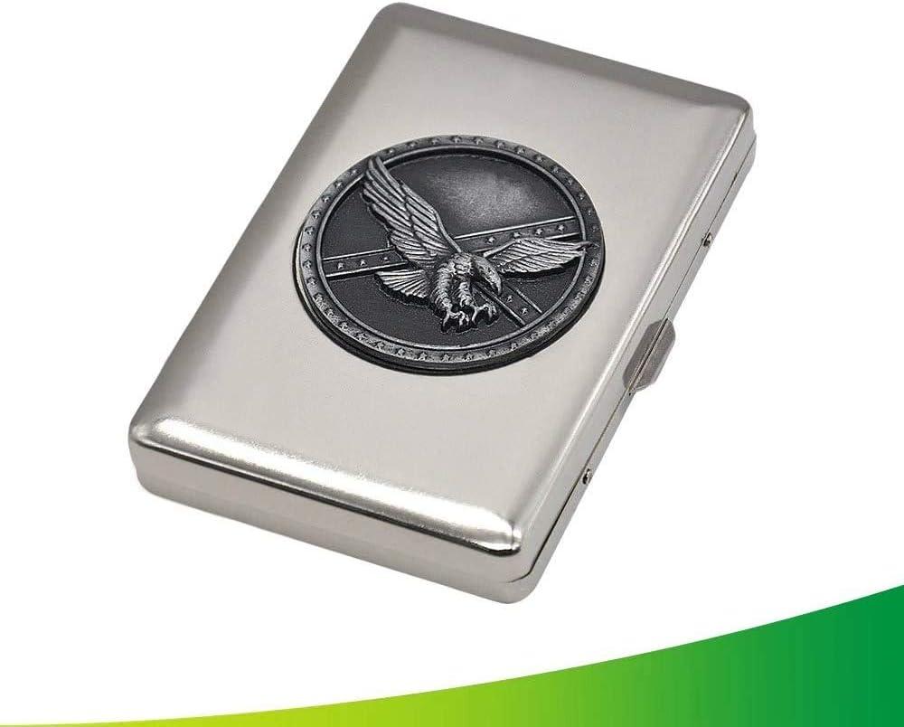 3P Caja de cigarrillos port/átil para 14 cigarrillos y tabaco Fara/ón