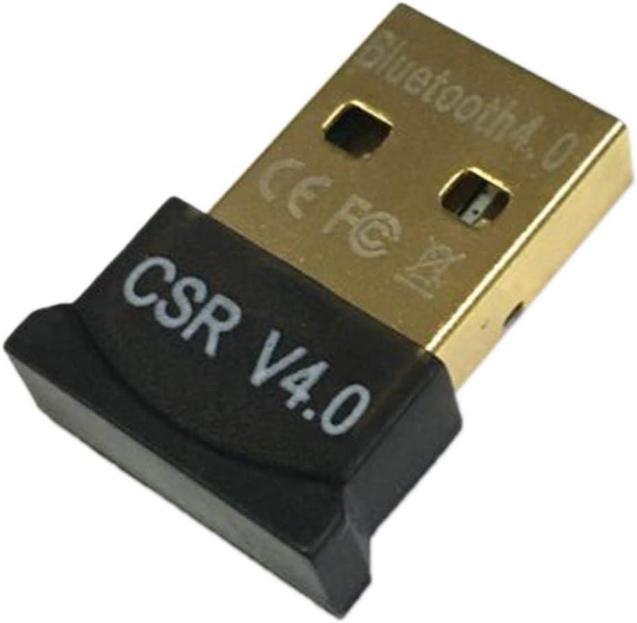 Mini USB Adaptador Bluetooth CSR Modo Dual Wireless Bluetooth V4.0 EDR Dongle Transmisor USB para Windows 7 8 10 PC portátil