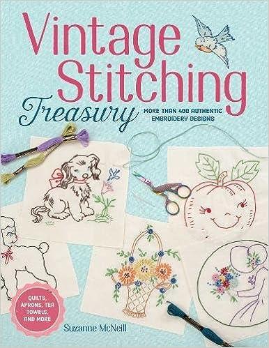 Vintage Stitching Treasury Suzanne Mcneill 9781497200074 Amazon