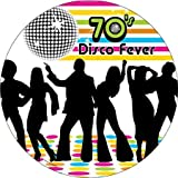 Bulk Buys Birthdays 70s Disco Themed Celebrations Party Paper Plates Pack Of 24