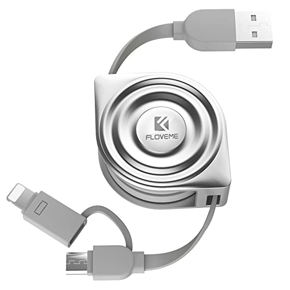 Cell Phones & Accessories Two N One Charging Data Sync Cable Micro To Usb And 8 Pin Lightning To Usb