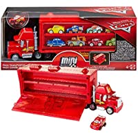 Disney Cars Mini Racers Mack Transporter