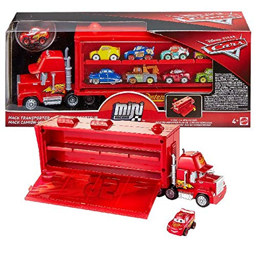 Disney Pixar Cars Mini Racers Mack Transporter ()