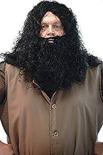 Fancy Dress-World Book Day-Halloween-Magic-Wizard School-Potter HAGRID GIANT WIG ONLY - One Size