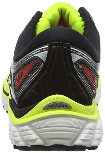 Brooks Glycerin 14, Zapatillas de Entrenamiento para Hombre Multicolor (Nightlife/Black/High Risk Red)
