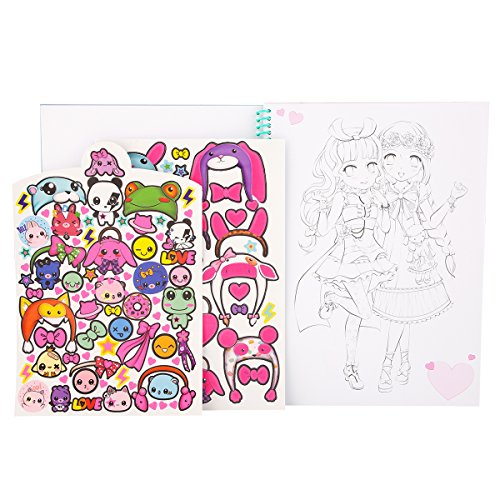 Top Model 8516 Mangamodel Malbuch Amazon De Spielzeug