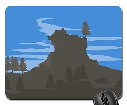 Amazoncom Mouse Pads Wallpaper Minimal Landscape