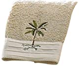 Croscill Fiji Fingertip Towel, 11 by 18-Inch