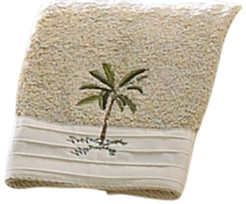 Croscill Fiji Fingertip Towel, 11 by 18-Inch by Croscill