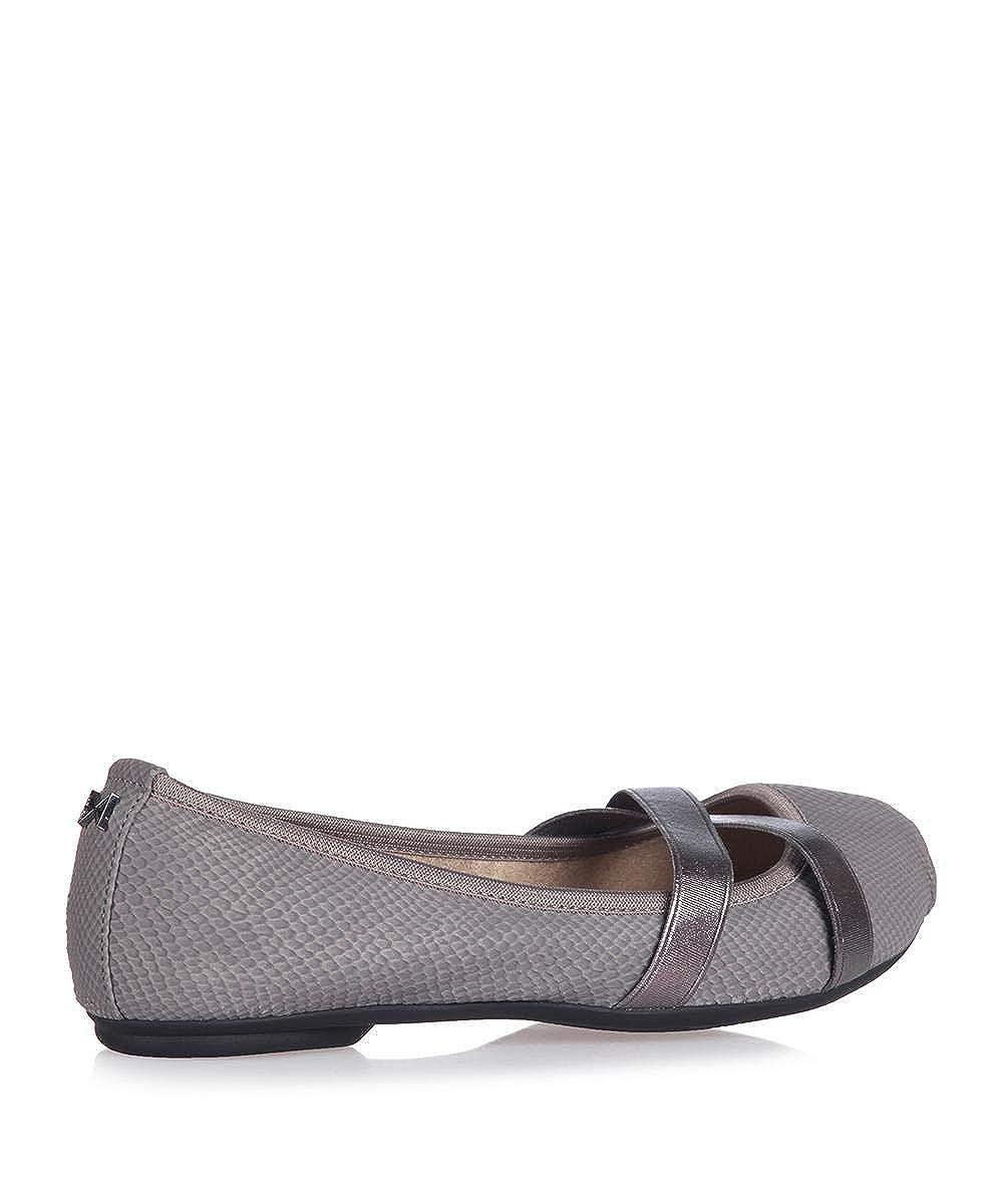 Butterfly Twist ballet Pumps Memory Foam Foldable Shoes Christina Slate