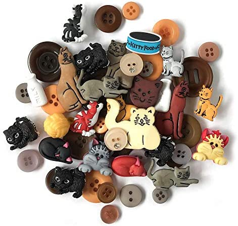 Buttons Galore and More Collection Round Novelty Buttons /& Embellishments Based on Variety of Themes 50 Pcs Cardmaking and other Projects Scrapbooking Sewing Holidays and Seasons for DIY Crafts