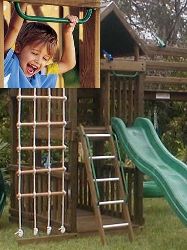 Handle Swing Set Hand Grip Playset Grab Bar Jungle Gym Playground Safety Grip Monkey Bar 19'' 1 Pair