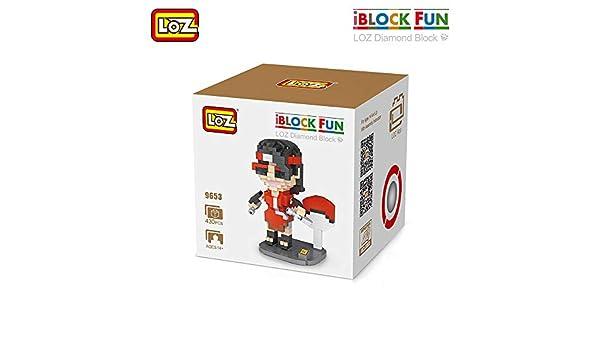 Outletdelocio. LOZ 9653. Kit de construccion miniaturizada. Sarada Uchiha. 430 Piezas: Amazon.es: Juguetes y juegos
