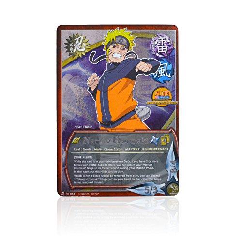 Naruto Promo Cards - Naruto TCG Naruto Uzumaki Promo - #PR053 - True Allies - Super Rare
