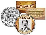 TOM HORN * Wild West Series * JFK Kennedy Half Dollar U.S. Coin