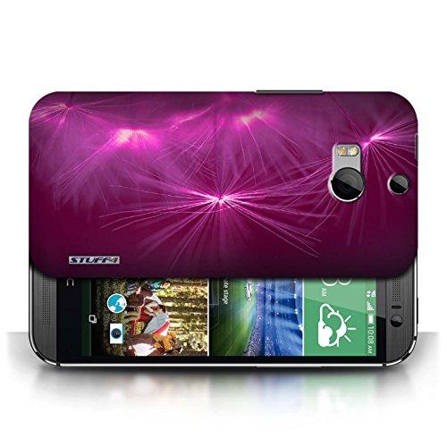 Etui / Coque pour HTC One/1 M8 / Rose conception / Collection de Allumez la vie