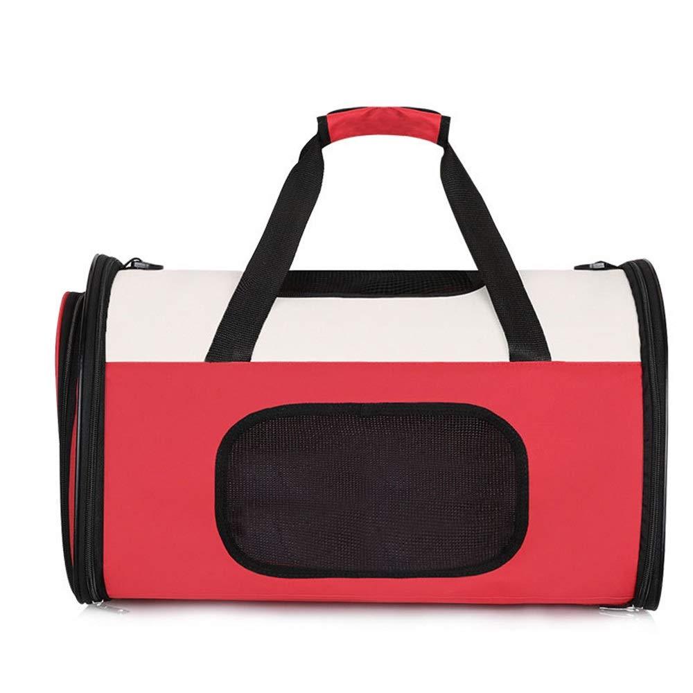 As-picture L As-picture L HYUE Breathable Pet Backpack, Dog Car, Portable Cat Bag, Pet Out Bag,Pet Handbag (color, Size   L)