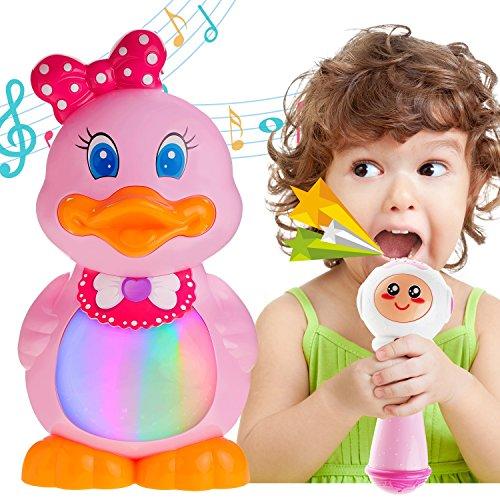 Toddlers Girls Sing Along MP3 & USB Music Player, Karaoke...