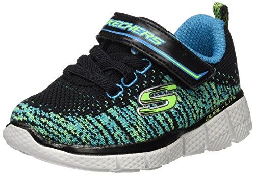 Skechers Equalizer 2.0, Zapatillas Para Niños Negro (Bblm)