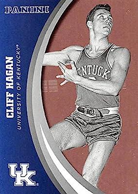 Cliff Hagan basketball card (Kentucky Wildcats) 2016 Panini Team Collection #38