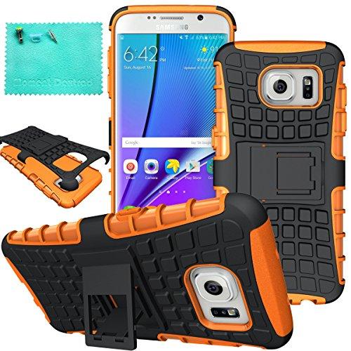 Shockproof Armor Case for Samsung Galaxy S7 Edge (Orange) - 8