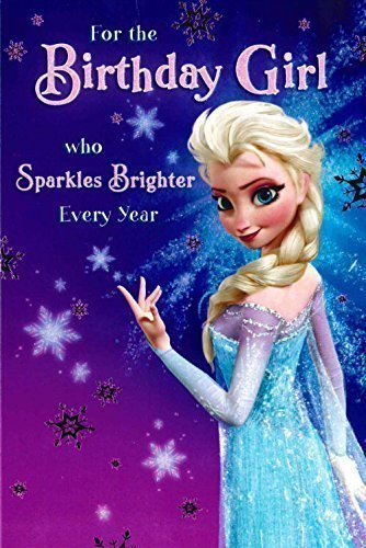 Amazon Disney Frozen Elsa Birthday Girl Card 418995 Office