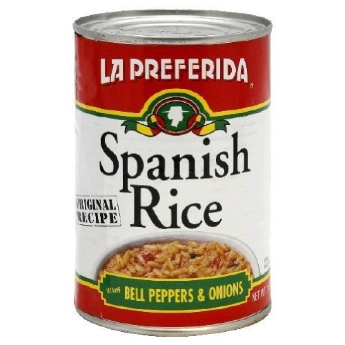 LA PREFERIDA RICE SPANISH CAN, 15 OZ 3cans by La Preferida