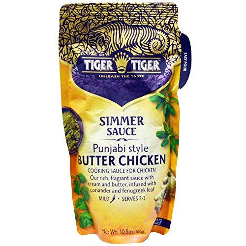 (Tiger Tiger, Punjabi Style Butter Chicken, Simmer Sauce, 10.5 oz (300 g)(Pack of 3))