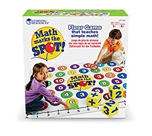 Learning Resources Math Marks the Spot - A Math Activity Mat