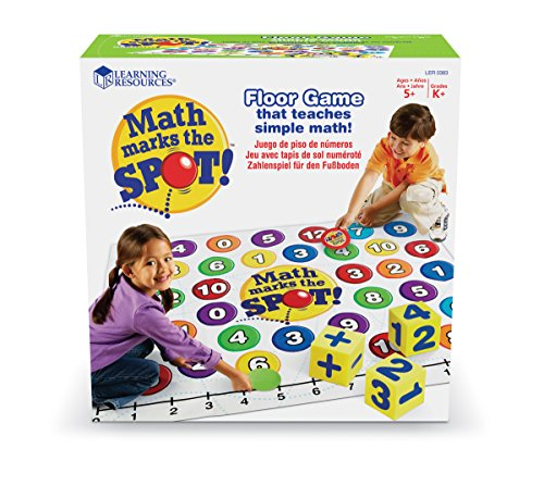 - Learning Resources Math Marks The Spot Floor Game