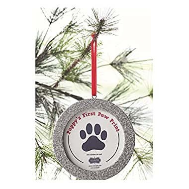 Mud Pie Christmas Pet Holiday Dog Glitter Ornament Kit - 4674013