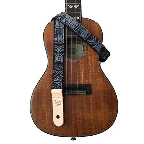 sherrins-threads-1-inch-ukulele-strap-black-tiki