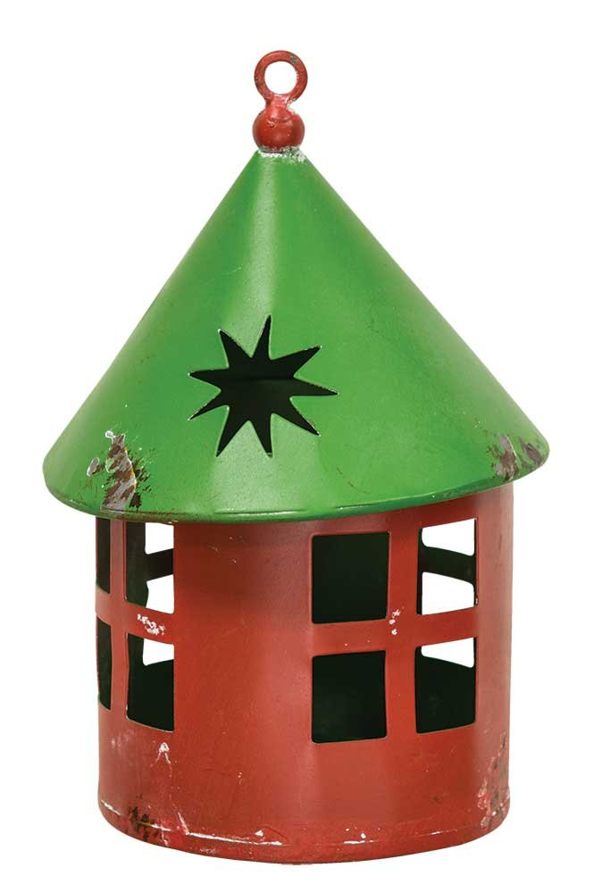 CWI Gifts Mini Vintage Christmas Lantern