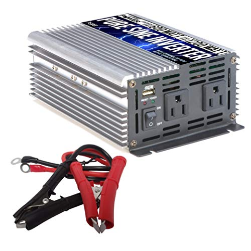 600w Power Pack - GoWISE Power PS1001 Pure SINE Wave Inverter 600W