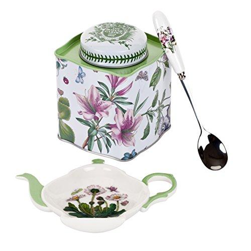 (Portmeirion Botanic Garden 3-Piece Tea Accessory Set)