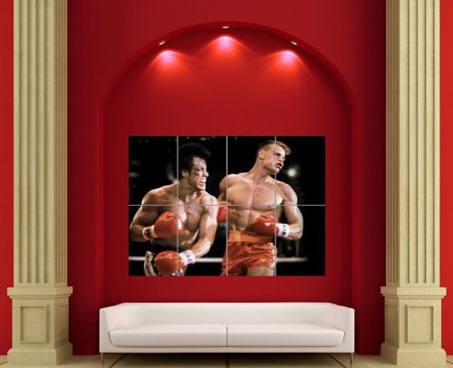 ROCKY IV 4 GIANT POSTER PICTURE PRINT X3106