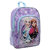 Best Frozen Backpacks - Disney Girls' Frozen Anna, Elsa and Olaf 16 Review