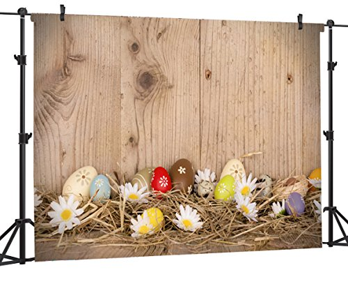 Ouyida Easter theme 7X5FT Pictorial cloth Customized photography Backdrop Background studio prop ET29